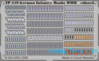 Photo-etched set 1/35 WWII German infantry ranks