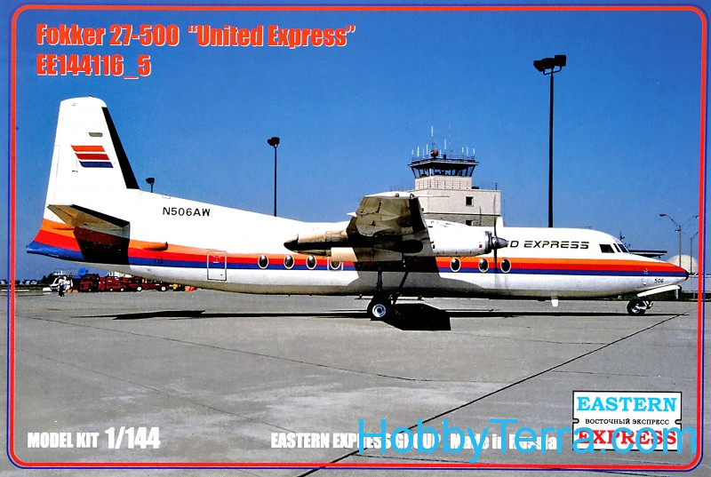 "Fokker 27-500 ""United Express"""