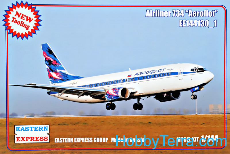 "Eastern Express  144130-01 Airliner-734 ""Aeroflot"""