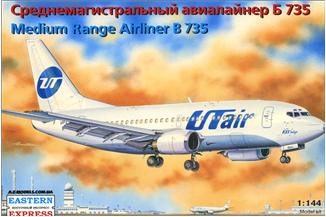Boeing 737-500 UTair airliner