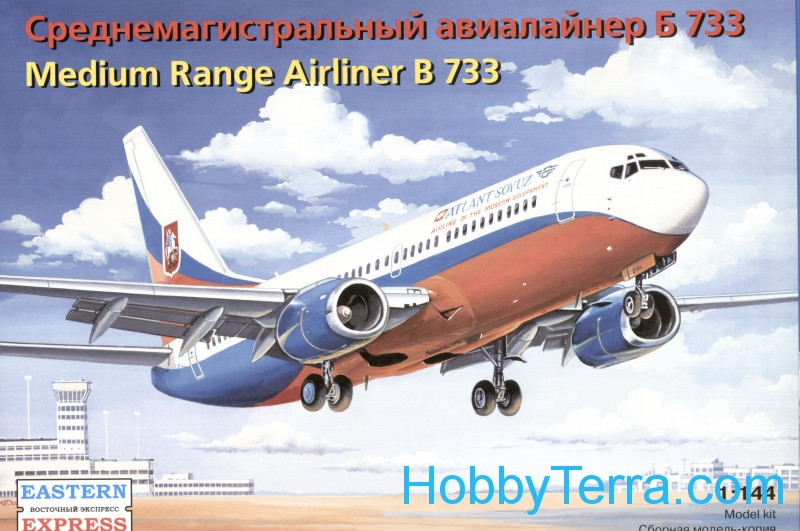 Boieng 737-300 medium range airliner