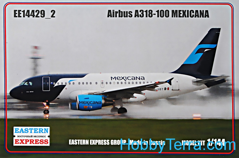 Eastern Express  14429-02 Airbus A318-100, Mexicana