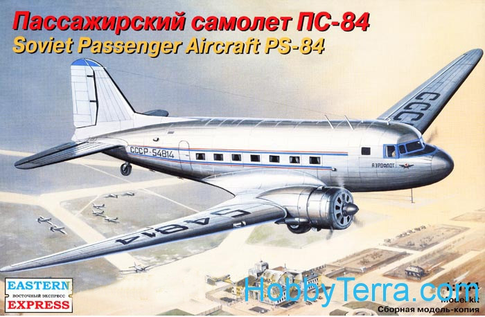 Eastern Express  14431 PS-84 Soviet passenger aircraft