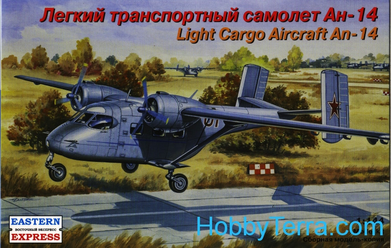 Eastern Express  14438 An-14 Soviet light cargo aircraft