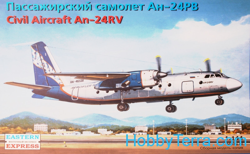 An-24RV Civil aircraft