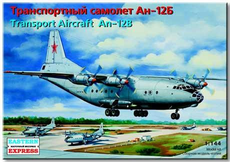 Antonov An-12B military transport aircraft