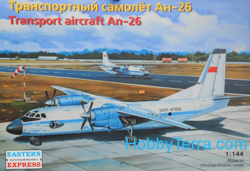 Antonov An-26 Civil transport aircraft