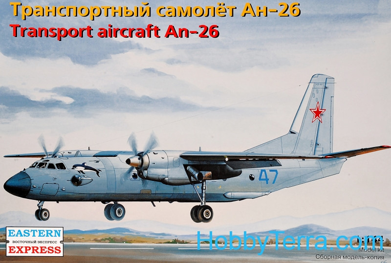 Eastern Express  14483 Antonov An-26 Military cargo transport