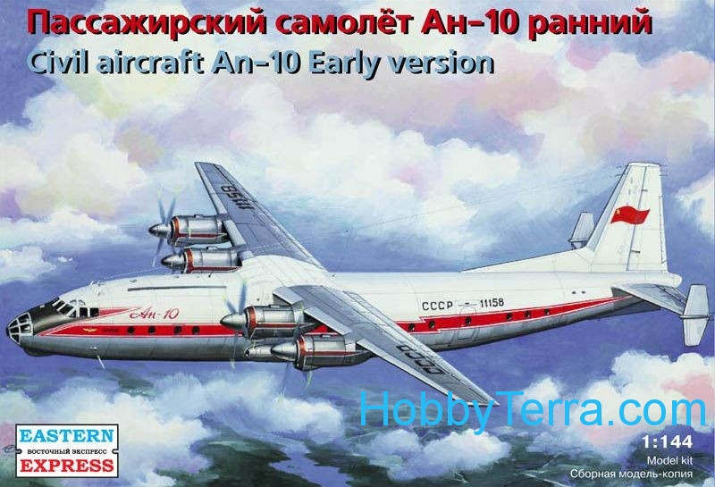 Eastern Express  14484 Civil aircraft An-10, early version