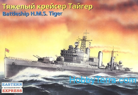 Eastern Express  40005 HMS Tiger battleship