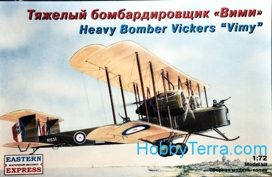 "Eastern Express  72256 Vickers ""Vimy"" heavy bomber"