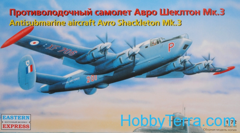 Avro Shackleton MR.Mk.3 reconnaissance aircraft