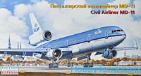 Civil airliner MD-11 KLM