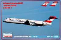 Civil airliner MD-87, Austrian airlines
