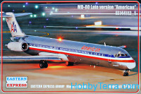 "Civil airliner MD-80 Late version ""American"""