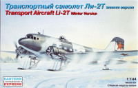 Transport aircraft LI-2T winter version