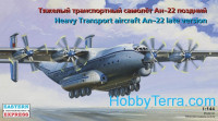 Heavy Transport aircraft Antonov An-22 (late version)