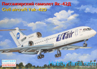 Civil airliner Yak-42D UTair/EMERCOM