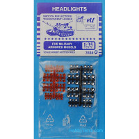 Headlights for military armored models