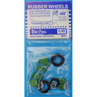 Rubber wheels 1/48 for Su-7BKL