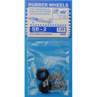 Rubber wheels 1/48 for SB-2