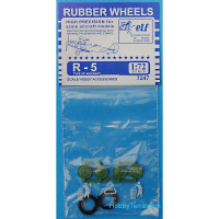 Rubber wheels for Polikarpov R-5