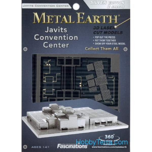 3D metal puzzle. Javits Convention Center