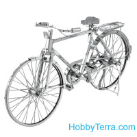 3D metal puzzle. Classic Bicycle