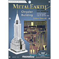 3D metal puzzle. Chrysler Building