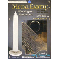 3D metal puzzle. Washington Monument