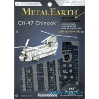 3D metal puzzle. CH-47 Chinook