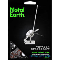 3D metal puzzle. Voyager spacecraft