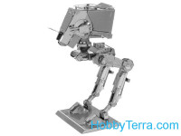 3D metal puzzle. AT-ST