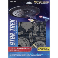 3D metal puzzle. Star Trek. Enterprise NCC-1701-D