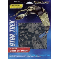 3D metal puzzle. Star Trek. Bird of Prey