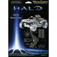 3D metal puzzle. Halo. UNSC Warthog