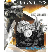 3D metal puzzle Halo. Gungoose
