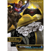 "3D metal puzzle. Batman vs Superman ""Batmobile"""