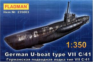 Flagman  235003 German U-boat type VII C/41