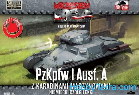First To Fight  002 Pz.Kpfw I Ausf.A