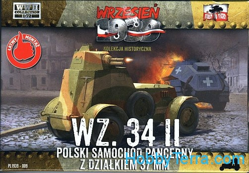 First To Fight  009 WZ.34 II Polish Armoured Car