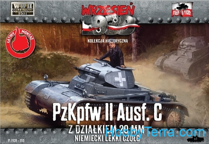 First To Fight  010 PzKpfw II Ausf.C