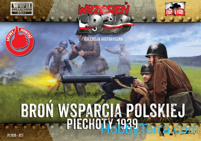 Polish infantry support weapons 1939