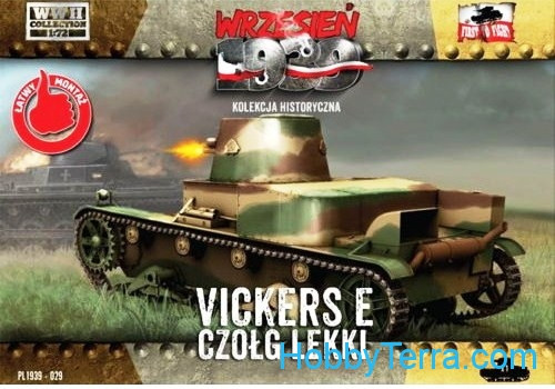 First To Fight  029 Light tank Vickers E