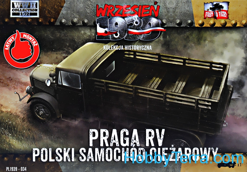 First To Fight  034 Praga RV truck in Polish service