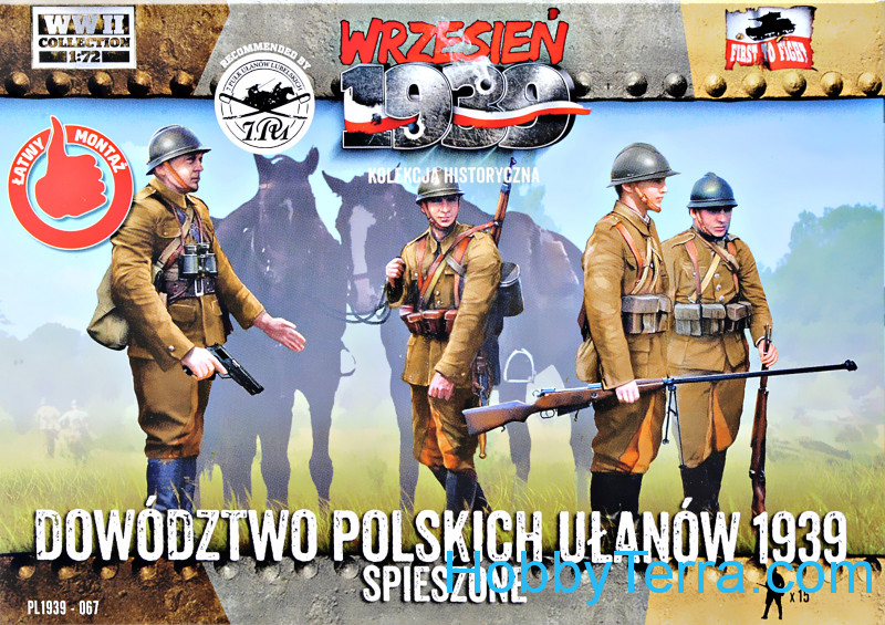 First To Fight  067 Command of Polish uhlans 1939