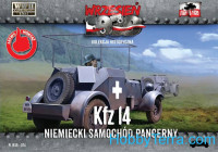 Kfz.14 German armored radio car