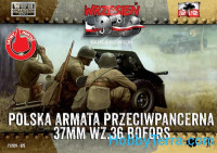 Polish Bofors 37 mm wz. 36 - Polish Infantry with Bofors (2 pcs)