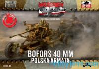 Bofors 40mm Polish anti-aircraft gun