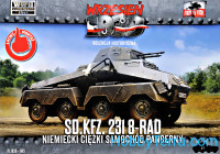 Sd.Kfz.231 8-RAD German heavy armored car